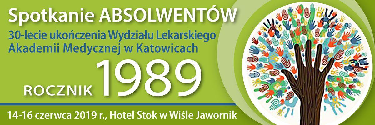 Spotkanie Absolwentów Wydziału Lekarskiego Śląskiego Uniwersytetu Medycznego w Katowicach - rocznik 1989