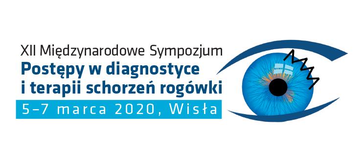 XII Międzynarodowe Sympozjum Postępy w diagnostyce i terapii schorzeń rogówki