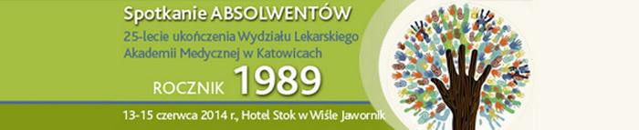 Spotkanie Wydziału Lekarskiego Śląskiej Akademii Medycznej w Katowicach roku akademickiego 1989