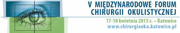 V Międzynarodowe Forum Chirurgii Okulistycznej