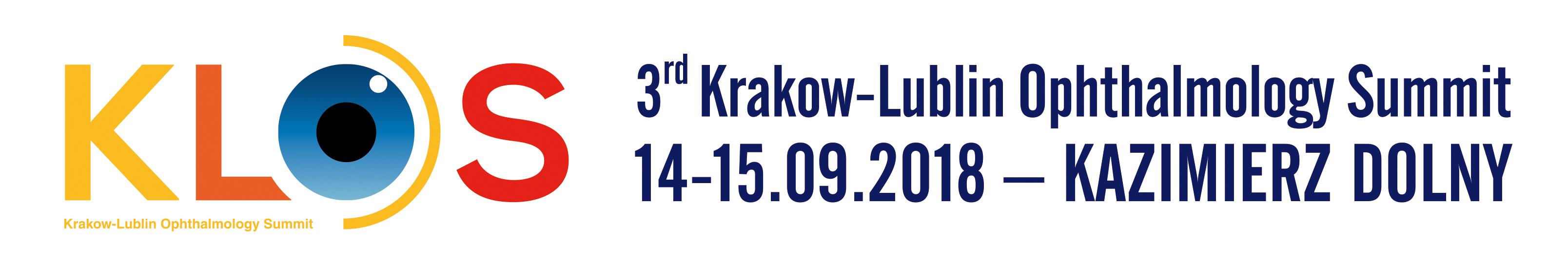 3rd Kraków-Lublin Ophthalmology Summit KLOS